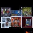 A nyugati királyság építőmesterei társasjáték - doboz komponensek