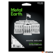 Metal Earth Fehér ház