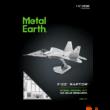 Kép 2/2 - Metal Earth Lockheed Martin F-22 Raptor repülőgép csomagolás