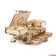 Kép 6/9 - UGEARS Antik doboz mechanikus modell