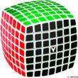 Kép 1/3 - V-Cube 7x7 versenykocka lekerekített fehér