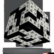 Kép 1/2 - V-Cube 3x3 versenykocka Keresztrejtvény