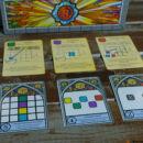 Sagrada társasjáték komponensei