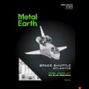 Metal Earth Atlantis űrsikló - lézervágott acél makettező szett