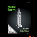 Metal Earth ICONX Big Ben - nagyméretű lézervágott acél makettező szett