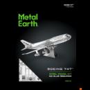 Metal Earth Boeing 747 repülőgép csomagolás