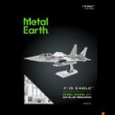 Metal Earth Boeing F-15 Eagle repülőgép - lézervágott acél makettező szett