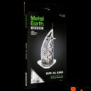 Metal Earth ICONX Burj Al Arab - nagyméretű lézervágott acél makettező szett