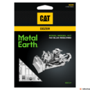 Metal Earth CAT lánctalpas - lézervágott acél makettező szett
