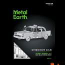 Metal Earth Checker Cab taxi - lézervágott acél makettező szett