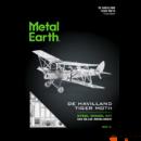 Metal Earth de Havilland DH 82 Tiger Moth repülőgép