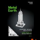 Metal Earth Empire State Building - lézervágott acél makettező szett