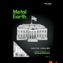 Metal Earth Fehér ház - lézervágott acél makettező szett