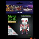 Metal Earth Galaxis őrzői - Drax - lézervágott acél makettező szett