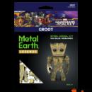 Metal Earth Galaxis őrzői - Groot - lézervágott acél makettező szett