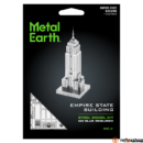 Metal Earth ICONX Empire State Building - nagyméretű lézervágott acél makettező szett