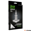 Metal Earth ICONX Alexandria világítótornya - nagyméretű lézervágott acél makettező szett