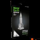 Metal Earth ICONX Chrysler Building - nagyméretű lézervágott acél makettező szett