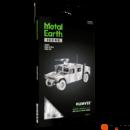 Metal Earth ICONX Humvee - nagyméretű lézervágott acél makettező szett