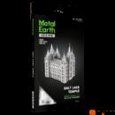 Metal Earth ICONX Salt Lake City temploma - lézervágott acél makettező szett