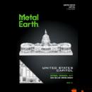 Metal Earth ICONX U.S. Kapitólium - nagyméretű lézervágott acél makettező szett