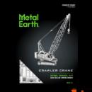 Metal Earth lánctalpas daru - lézervágott acél makettező szett