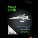 Metal Earth Lockheed Martin SR-71 Blackbird repülőgép