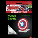 Metal Earth Marvel Avengers - Amerika kapitány pajzsa csomagolás