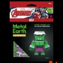 Metal Earth Marvel Bosszúállók - Hulk mini modell - lézervágott acél makettező szett