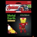 Metal Earth Marvel Bosszúállók - Vasember mini modell - lézervágott acél makettező szett