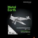 Metal Earth Messerschmitt BF-109 repülő - lézervágott acél makettező szett