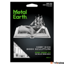 Metal Earth Moby Dick - lézervágott acél makettező szett