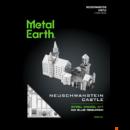 Metal Earth Neuschwanstein kastélya - lézervágott acél makettező szett