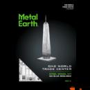 Metal Earth One World Trade Center - lézervágott acél makettező szett