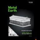 Metal Earth Parthenon - lézervágott acél makettező szett