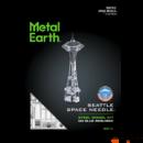 Metal Earth Space Needle torony - lézervágott acél makettező szett