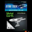 Metal Earth STAR TREK USS Enterprise NCC-1701 - lézervágott acél makettező szett