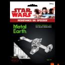 Metal Earth Star Wars 8. epizód SKI Speeder - lézervágott acél makettező szett