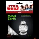 Metal Earth Star Wars BB-8 robot - lézervágott acél makettező szett