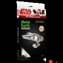 Metal Earth Star Wars Millenium Falcon űrhajó csomagolása