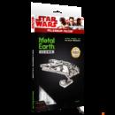 Metal Earth Star Wars ICONX Ezeréves Sólyom űrhajó - nagyméretű lézervágott acél makettező szett