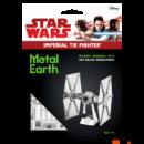 Metal Earth Star Wars TIE Fighter űrrepülő - lézervágott acél makettező szett