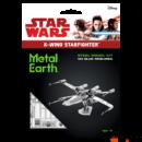 Metal Earth Star Wars X-Wing űrrepülő - lézervágott acél makettező szett