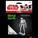 Metal Earth Star Wars Zsivány1-es K-2SO droid csomagolása