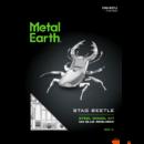 Metal Earth szarvasbogár - lézervágott acél makettező szett