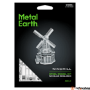 Metal Earth Szélmalom - lézervágott acél makettező szett