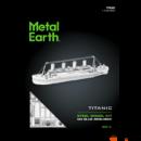 Metal Earth Titanic - lézervágott acél makettező szett
