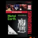 Metal Earth Transformers - Optimus Prime - lézervágott acél makettező szett