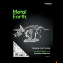Metal Earth Triceratops - lézervágott acél makettező szett