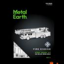 Metal Earth Tűzoltóautó - lézervágott acél makettező szett